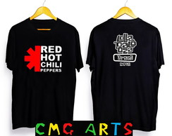 Camiseta Red hot chili peppers, lollapalooza the killers