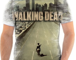 Camisa Camiseta Personalizada Série The Walking Dead 5