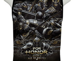 Camiseta Game For Honor Season V Age of Wolves - Regata