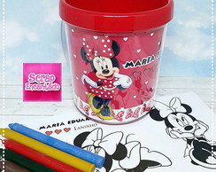 Caneca com Kit de colorir Minnie