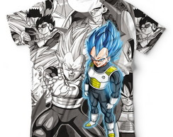 Camisa Camisetas Blusa Vegeta Dragon ball Super