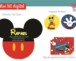 Mini Kit Digital - Mickey Mouse