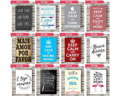 PLACAS DE MDF DECORATIVAS — FRASES 1