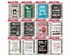 PLACAS DE MDF DECORATIVAS — FRASES 2