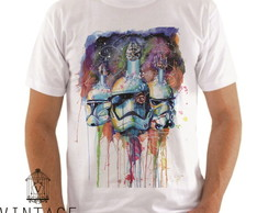 T-shirt Blusa Masculina 100% poliéster StormTroopers Vintage