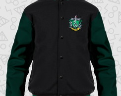 Jaqueta Harry Potter Sonserina (Verde) Moletom College