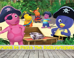 Painel de Festa The Backyardigans