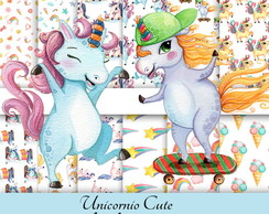 Kit Digita Unicornio cute