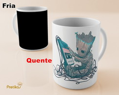 Caneca Mágica Baby Groot
