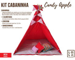 Kit Cabaninha - Candy Apple
