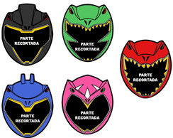 Máscaras Power Rangers Dino Charge