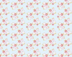 8305 - Mini Flower Azul Brisa