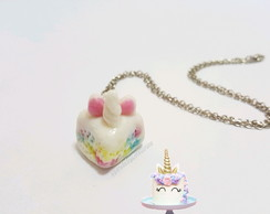 Colar Unicorn Cake Lover