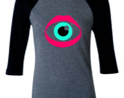 Camiseta Raglan 3/4 Katy Perry