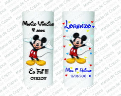 Copos Personalizados Mickey Mouse - Kit Grande