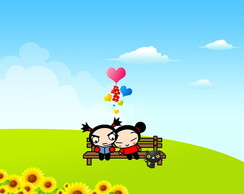 Painel 2x1 Pucca