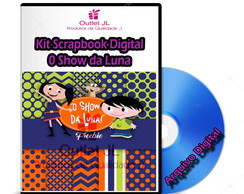 Kit Scrapbook Digital - O Show da Luna