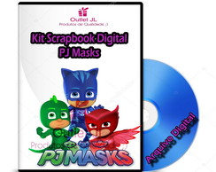 Kit Scrapbook Digital - PJ Masks