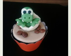 Cup cake dinossauro