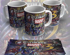 Caneca de porcelana ultimate marvel vs capcom 3