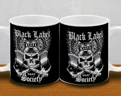 CANECA BLACK LABEL SOCIETY