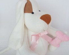 Cachorrinha decorativa - 30 cm sentada