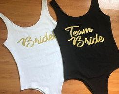 Body em Suplex Despedida de Solteira Team Bride