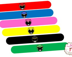 Pulseira Bate Enrola Power Rangers Dino Charge