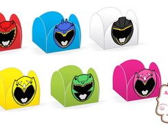 Forminhas de Doces Power Rangers Dino Charge