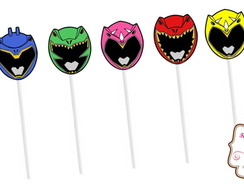 Toppers Power Rangers Dino Charge