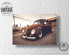 Placa Decorativa VW FUSCA Antigo