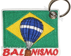 Chaveiro Patch - balonismo AD30115C