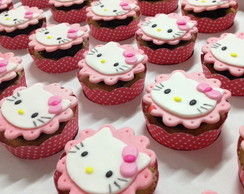 Mini Cupcakes Hello Kitty