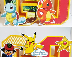 Letras 3D - Pokemon