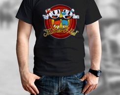 Camisa Camiseta Game Cuphead Thats All Folks