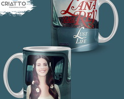 Caneca Lana Del Rey - Lust For Life