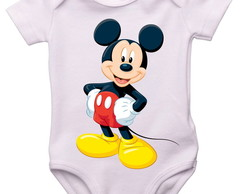 Body do Bebê Personalizado, Mickey Mouse