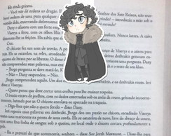 Marcador Magnetico Jon Snow Game of Thrones