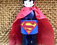 Mini Refrigerante Superman