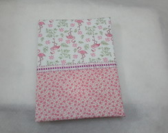 Caderno Decorado Flamingo