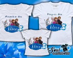 Kit Camisetas-Frozen- MOD. 03