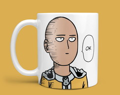 "Caneca ""One Punch Man - Ok"""