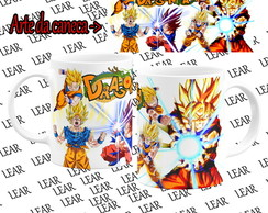 Caneca Branca Dragon Ball #31