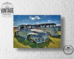 Placa Decorativa VW FUSCA 02