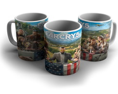 Caneca de Porcelana Far Cry 5