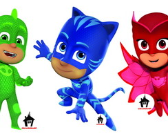 Kiit Display Festa Infantil PJ MASKS