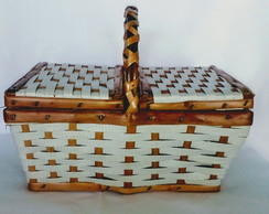 Cesta Piquenique mini (28x16x13)