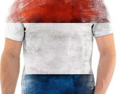 Camisa Camiseta Personalizada Bandeira da Franca 1  0243b020c4fc5