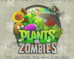 Kit Festa Pronta Plants VS Zombies - Digital