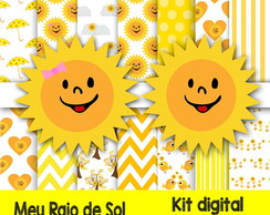 Kit Digital papel Meu Raio de Sol